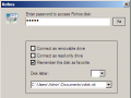 Connect disk dialog box