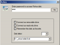 Connect disk dialog