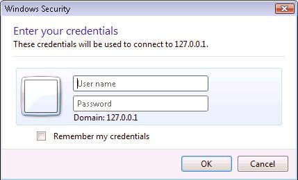 Credentials Prompt of RDP 6 0 and login with USB Key – Rohos