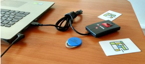 Multi-factor authentication with RFID cards HidProx, Indalla