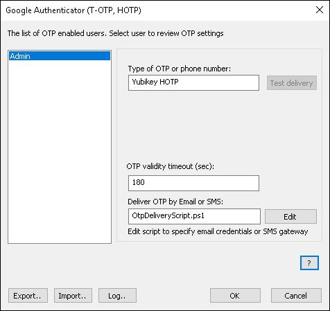 Using Google Authenticator OTP for Windows login – Rohos