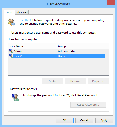 Automatically logon in Windows 8 – Rohos