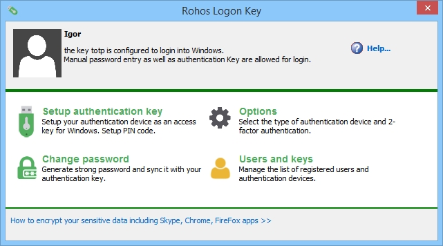 Resultado de imagen para Rohos Logon Key 3