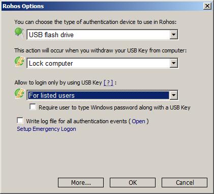 Xác thực bằng USB hoặc thẻ nhớ SD