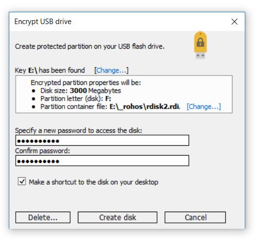 best free usb lock software