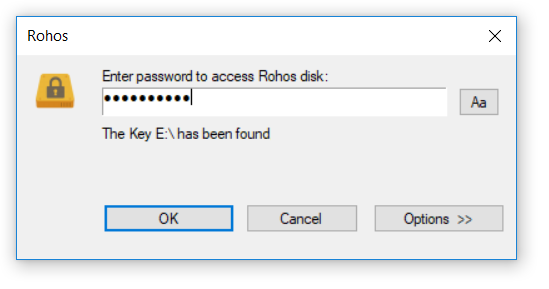Disk On Notifications Help You To Know When Secured Parion Is Connected Or Disconnected If Click The Balloon Explorer Window Will Be Opened